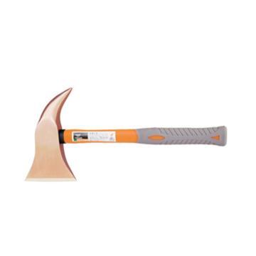 桥防 防爆装柄安全斧,铍青铜,98*198*340mm,195-1002BE