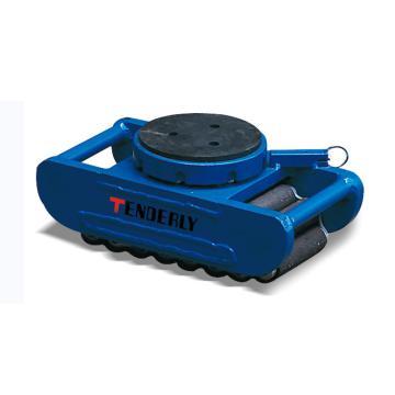 泰得力 欧式滑动轮,10T 橡胶垫表面 可旋转及定位,SVP10