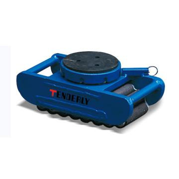 泰得力 欧式滑动轮,15T 橡胶垫表面 可旋转及定位,SVP15