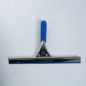 304不锈钢优质长柄玻璃刮35cm 蓝色