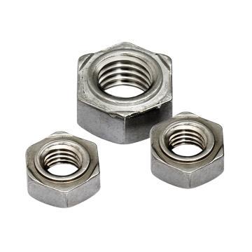 奥峰 DIN929六角焊接螺母,M8-1.25,不锈钢304,450个/包