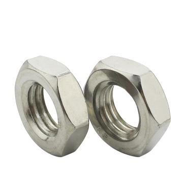 东明六角薄螺母,GB6172,M6,不锈钢A2,500个/包