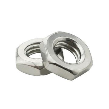 东明 GB6172六角薄型螺帽,M12-1.75,不锈钢316,强度A4-40,50个/包