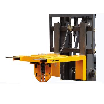 西域推薦 2000Kg四桶油桶夾(每次1-4桶) 叉口尺寸180X60mm 適合搬運鋼桶及帶厚邊塑料桶,DG4S