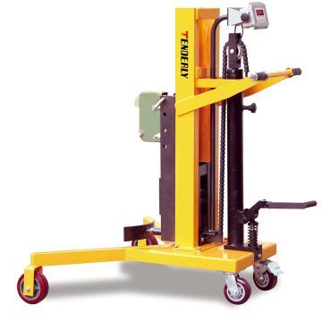 泰得力 DTF450WA型油桶称重车,额定载重(kg):200 支腿前轮架内宽(mm):915,DTF450WA