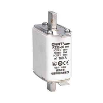 正泰CHINT RT36系列刀型触头熔断器,RT36-00(NT00) 80A