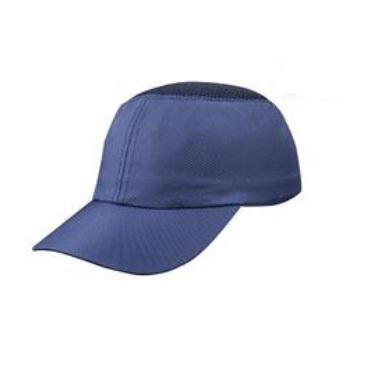 代尔塔DELTAPLUS 运动安全帽,102010,轻型防撞 蓝色 帽檐7cm COLTAN