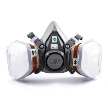 3M 6200尘毒呼吸防护套装,620P升级为6200套装