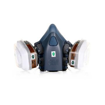 3M 7502尘毒呼吸防护套装,720P