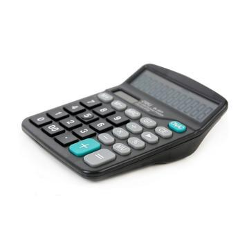 得力 桌面型計算器,黑色837ES 單位:臺