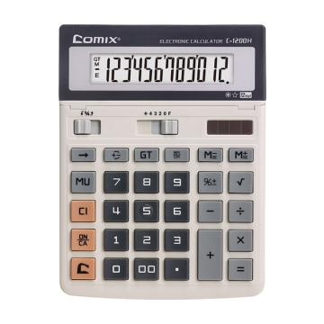 齐心 计算器,白C-1200H 单位:个