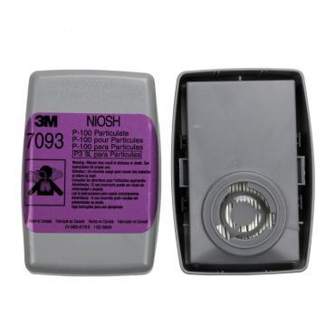 3M 滤尘盒,7093CN,P100,4个/包