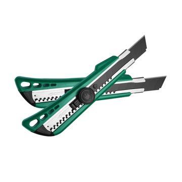 世达美工刀,塑柄旋钮 8节18x100mm, 93429