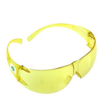 3M SF203AF中国款安全眼镜琥珀色防雾镜片