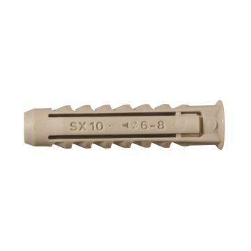 慧鱼,超级安全尼龙锚栓,SX 6*30,100支/盒