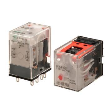 欧姆龙OMRON 继电器,MY4-GS 14脚 AC100/110V 停产
