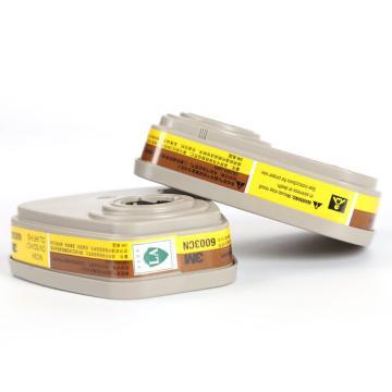 3M 6003CN有机及酸性气体滤毒盒,2个/包
