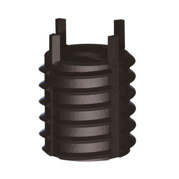 螺纹护套, M6x1.0 碳钢 薄壁型 1个