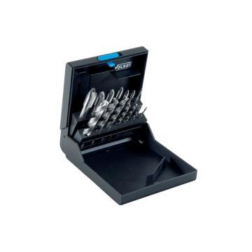 伯爵 钻头丝锥套装,M3-12,螺尖型,蓝圈(耐磨钢用),14件/盒