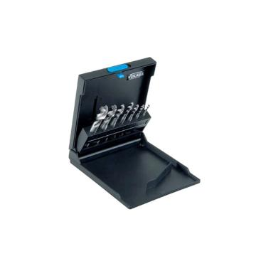 伯爵 螺旋槽丝锥套装,M3-12,蓝圈(耐磨钢用),7件/盒