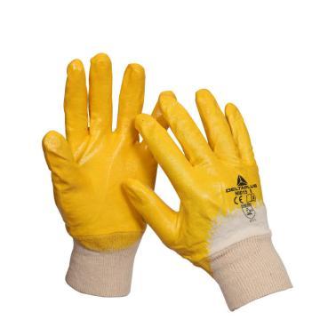 代尔塔DELTAPLUS 丁腈涂层手套,201015-9,轻型丁腈涂层手套 NI015