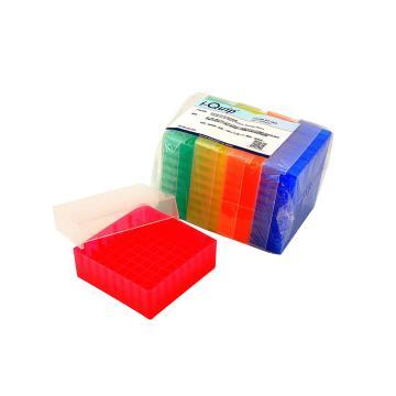 81孔冷冻盒,适用1.5/2.0ml冻存管,5个/包