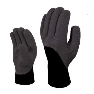 代尔塔DELTAPLUS 防寒手套,201750-9,舒适灵巧型防寒防水保暖防护手套 VV750
