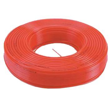 亚德客AirTAC PU气管,Φ10×Φ6.5,橙色,100M/卷,亚德客PUA1065-O