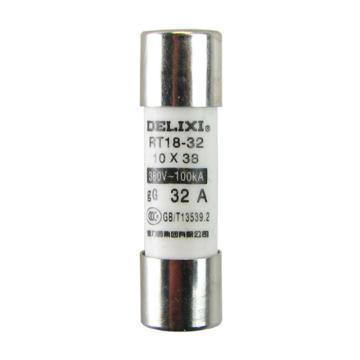 德力西 熔芯,RT18 25A Φ10X38,RT18M1038T25