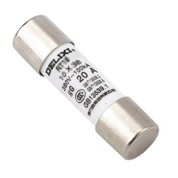 德力西DELIXI 熔芯,RT19 16A Φ8.5X31.5,RT19M8P531P5T16