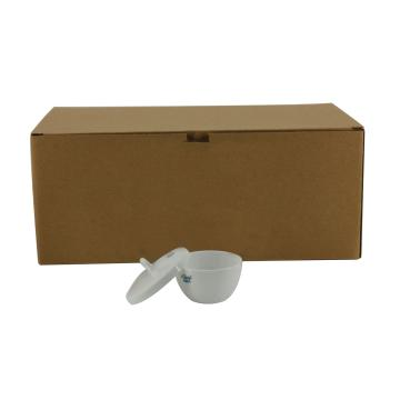 低壁陶瓷坩埚盖,配L6763-B25ml,6个/盒