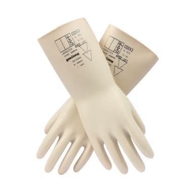 霍尼韦尔Honeywell 绝缘手套,2091912-09, 工作电压7500V(进口产品货期不稳,下单请咨询)