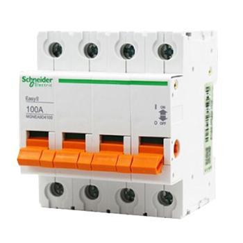 施耐德Schneider EASY9系列微型隔离开关,MGNEA9D463(3的倍数订货)