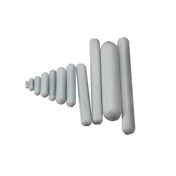 聚四氟乙烯磁力搅拌子,圆柱型,无轴环,8×70mm,5个/包