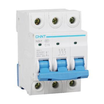正泰CHNT 微型断路器 NB7 3P 40A D型