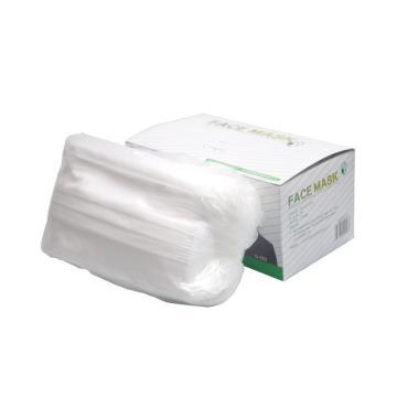 冠桦G-203(白)一次性三层无纺布口罩,白色,50只/盒