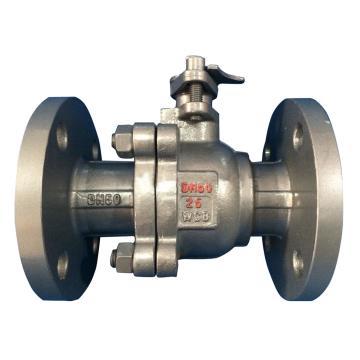 碳钢法兰软密封球阀 Q41F-64C,DN15