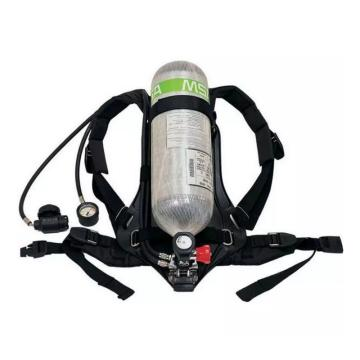 梅思安MSA 空气呼吸器,10165420,AX2100 标准空气呼吸器 6.8L BTIC气瓶带表