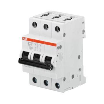 ABB 微型断路器 S203M 3P 6A C型 S203M-C6