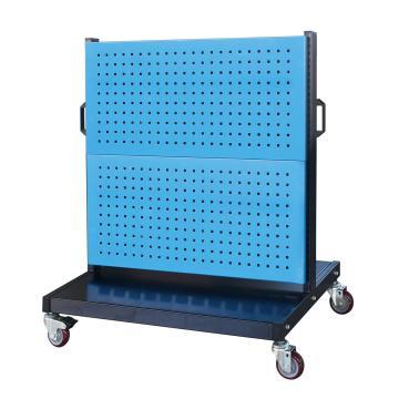 信高 移动型双面物料架(4方孔),960*640*1156mm,KM-2240,散件发货,安装费另询
