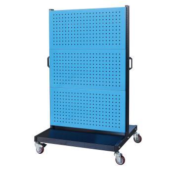 信高 移动型双面物料整理架(6方孔),960*640*1605mm,KM-2360,散件发货,安装费另询