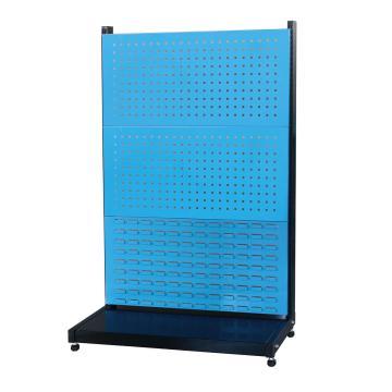 信高 固定型单面物料架(2方孔1百叶),960*375*1515mm,KR-1321,散件发货,安装费另询