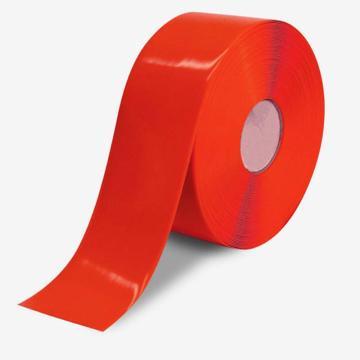重载型划线胶带(红)-高强度PVC材料,自带背胶,红色,厚1mm,50mm×30m,15002