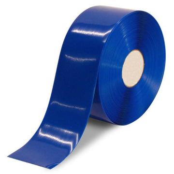 安赛瑞 重载型划线胶带,1mm厚PVC基材,50mm×30m,蓝色,15003