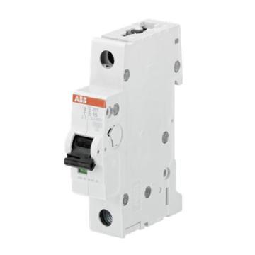 ABB 微型断路器 S201 1P 6A C型 S201-C6