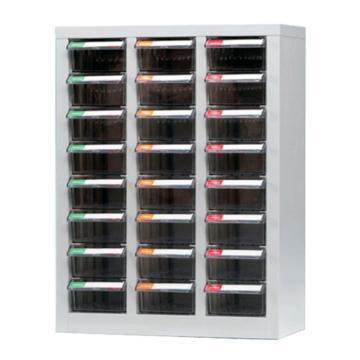 銳德 開放式零件箱,600*283*720,24抽屜,PS(透明)