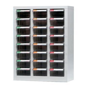 銳德 開放式零件箱,600*283*720,24抽屜,ABS