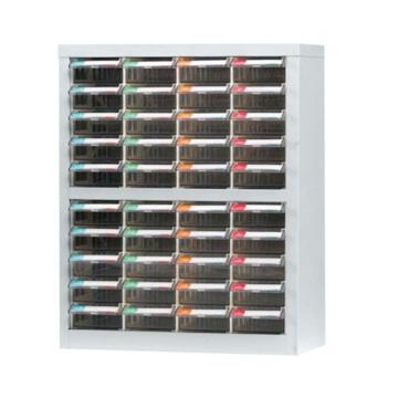 銳德 開放式零件箱,474*232*60040抽屜,PS(透明)