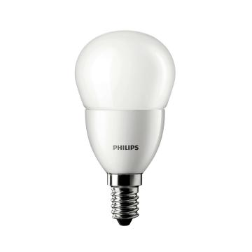 飛利浦 6.5W LED小球泡 LED燈泡,E14 3000K 黃光,單位:個