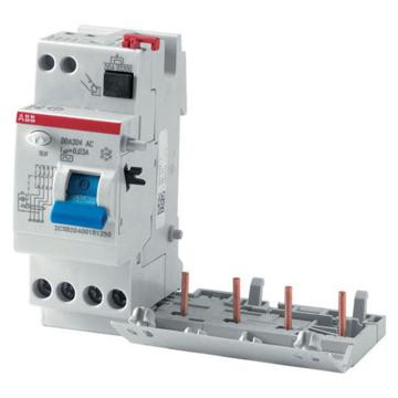 ABB 微型漏电保护附件,电磁式 AC型瞬动型,DDA204 AC-40/0.3